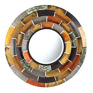 Ramona Round Decorative Mirror, , large