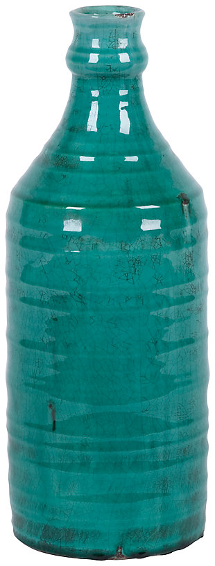 Home Accents Vase, Green, large