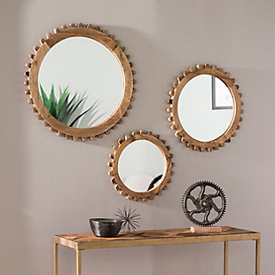 Mayson Round Farmhouse Mirror Set, , rollover