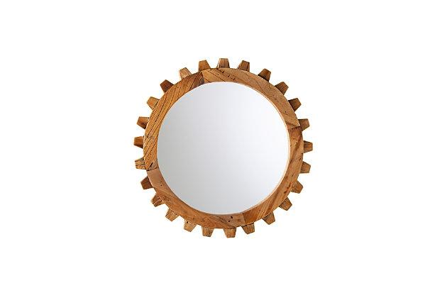 Mayson Round Farmhouse Mirror Set, , large