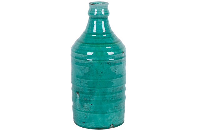 Home Accents Vase by Ashley HomeStore, Green