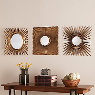 Martz 3-Piece Decorative Mirror Set, , rollover