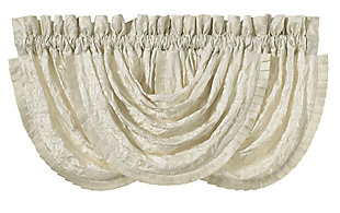 J.Queen New York Marquis Window Waterfall Valance, , rollover