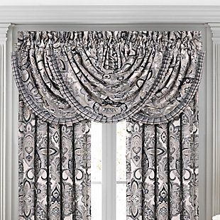 J.Queen New York Guiliana Window Waterfall Valance, , large