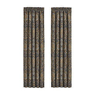 "J.Queen Five Queens Court Palmer 84"" Window Panel Pair, , rollover"
