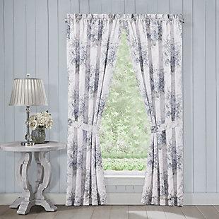 """J.Queen Royal Court Estelle 84"""" Window Panel Pair, , large"""