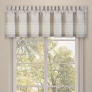 J.Queen New York Lauralynn Window Straight Valance, , large