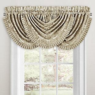 J.Queen New York Sandstone Window Waterfall Valance, , large