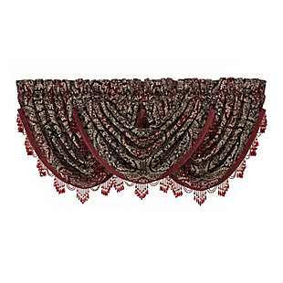 J.Queen New York Taormina Window Waterfall Valance, , rollover