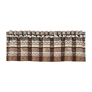 J.Queen New York Timber Window Straight Valance, , rollover