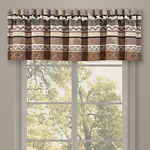 J.Queen New York Timber Window Straight Valance, , large