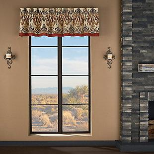 J.Queen New York Tucson Window Straight Valance, , large