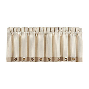 J.Queen New York Palm Beach Window Straight Valance, , rollover