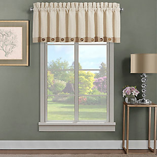 J.Queen New York Palm Beach Window Straight Valance, , large