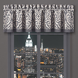 J.Queen New York Tribeca Window Straight Valance, , large