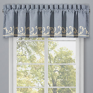 J.Queen New York Aurora Window Straight Valance, , large
