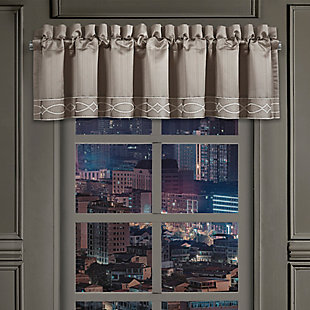 J.Queen New York Deco Window Straight Valance, , large