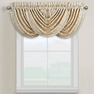 J.Queen New York Blossom Window Waterfall Valance, , large