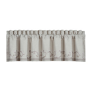 J.Queen New York Angeline Window Straight Valance, , rollover