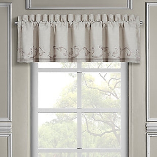 J.Queen New York Angeline Window Straight Valance, , large