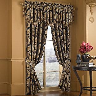 """J. Queen Five Queens Court Reilly 84"""" Window Panel Pair, , large"""
