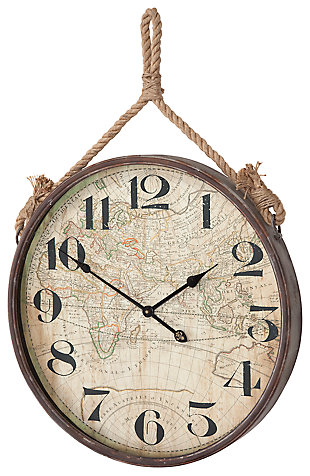 Home Accents Wall Clock, ...