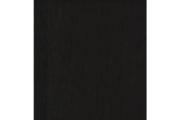 HomePop Parker Accent Chair and Pillow - Black Plaid, Black, large