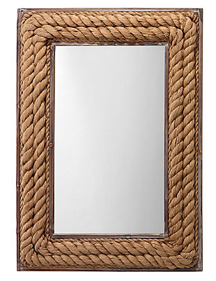 Jamie Young Rectangle Jute Mirror, , large