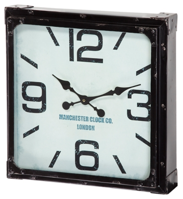Home Accents Wall Clock by Ashley HomeStore, Black