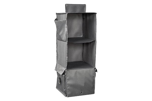 Honey Can Do Hanging Closet Organizer with Three Shelves, , large