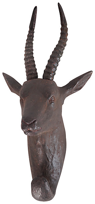 Home Accents Gazelle Wall Art Coat Hook, , large