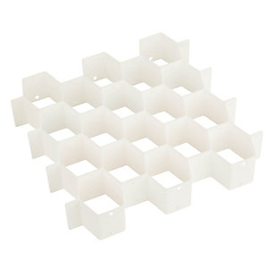 Honey Can Do 32 Compartment Drawer Organizer, , large