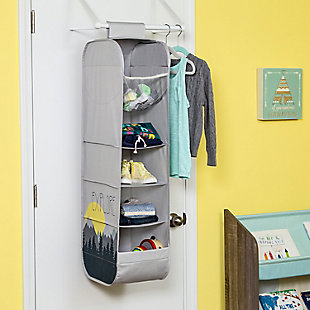 Honey Can Do Kids Collection Hanging Closet Organizer, , rollover