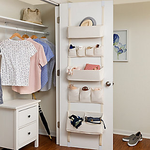 Honey Can Do 10 Pocket Over-The-Door Organizer, , rollover