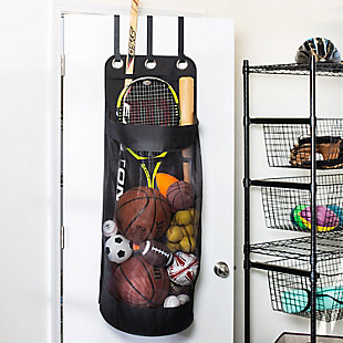 Honey Can Do Sports Equipment Organization And Ball Storage, , rollover