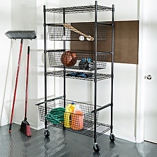 Honey Can Do Sport Eqiupment Storage Rack, , large