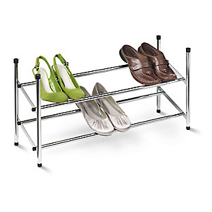 Honey Can Do Two Tier Shoe Rack, , rollover