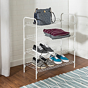 Honey Can Do Four Tier Accessory Rack, , rollover