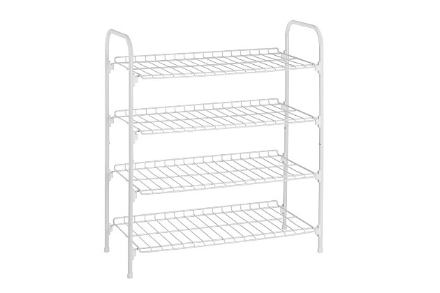 Honey Can Do Four Tier Accessory Rack, , large