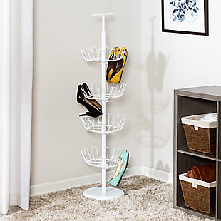 Honey Can Do Four Tier Shoe Tree, , rollover
