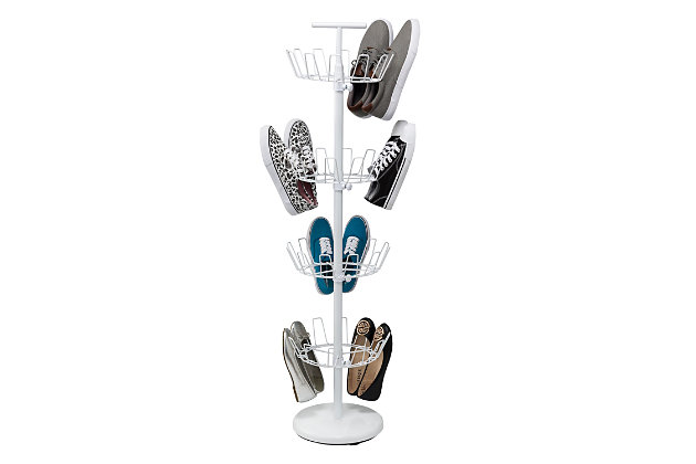 Honey Can Do Four Tier Shoe Tree, , large