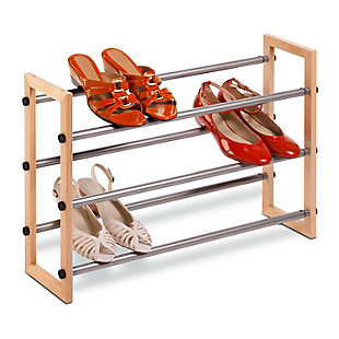 Honey Can Do Three Tier Shoe Rack, , rollover
