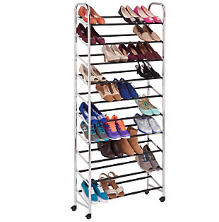 Honey Can Do Rolling Shoe Tower, , large