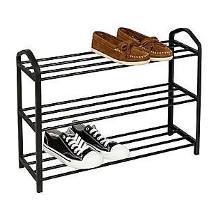 Honey Can Do Three Tier Shoe Rack, , large