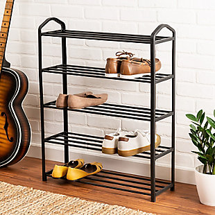 Honey Can Do Five Tier Shoe Rack, , rollover