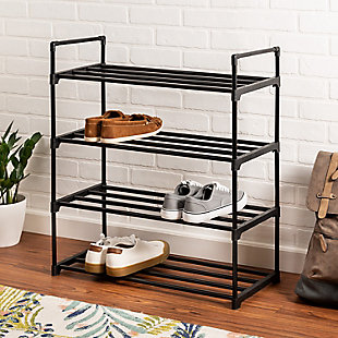 Honey Can Do Four Tier Shoe Rack, , rollover