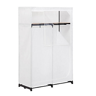 "Honey Can Do 46"" Wardrobe with Cover, , large"