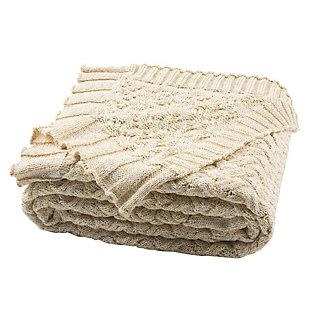 Safavieh Adara Knit Throw, , large