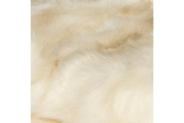 Safavieh Faux Shadow, White, large