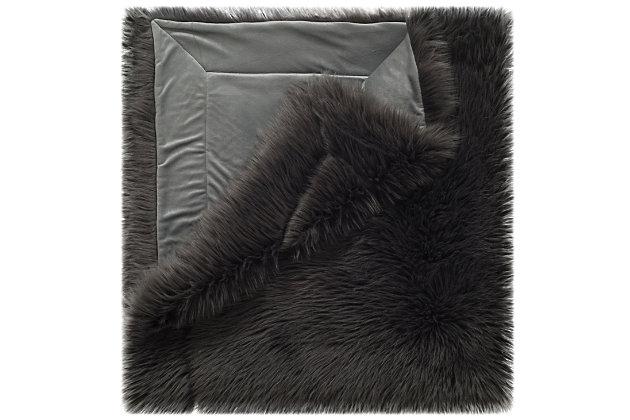 Safavieh Faux Gray Shadow Fox, Gray, large